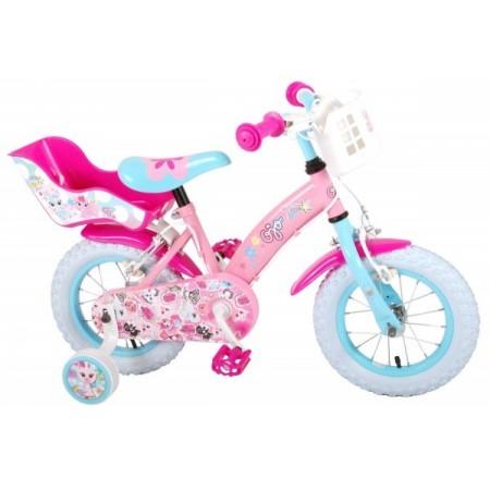 Bicicleta pentru copii Volare OJO Children 91229-IT 12 inch cu roti ajutatoare si frana de mana*