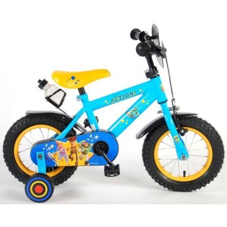 Bicicleta pentru baieti Volare Toy Story 91207 12 inch cu roti ajutatoare frana de mana si sticla apa*