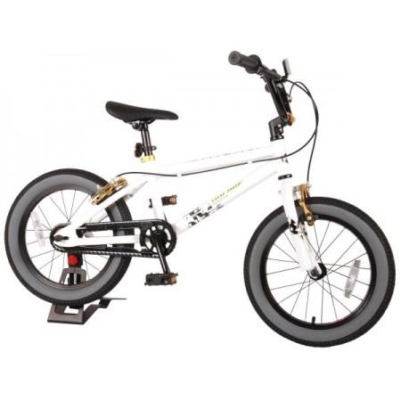 Bicicleta pentru copii Volare Freestyle Cool Rider 91646 16 inch alb*