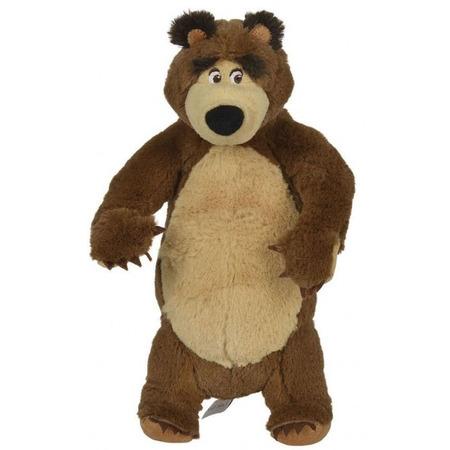 Jucarie de plus Simba Masha and the Bear, Bear in picioare 25 cm*
