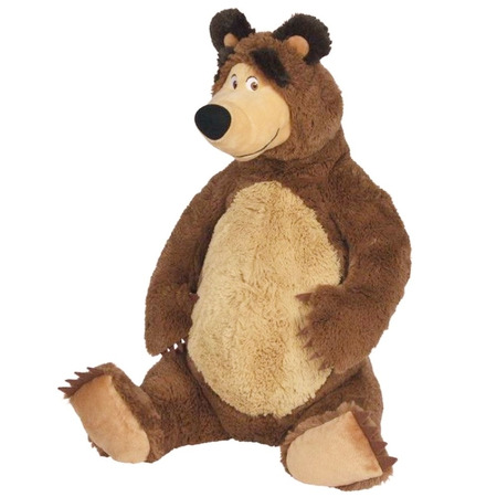Jucarie de plus Simba Masha and the Bear, Bear sezand 25 cm*