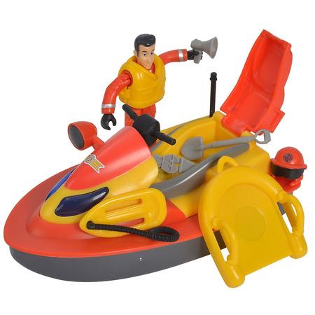 Jet Sky Simba Fireman Sam Juno cu figurina si accesorii*