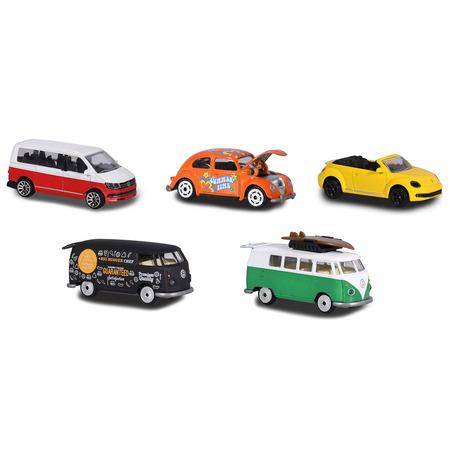 Set Majorette 5 masinute Volkswagen*