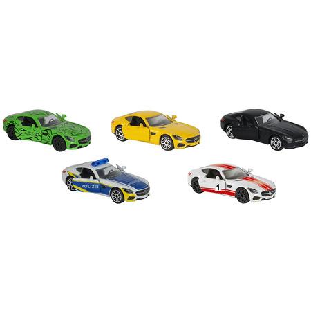 Set Majorette 5 masinute Mercedes AMG*