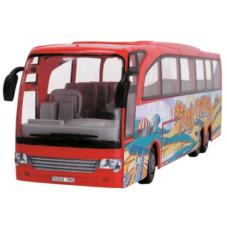 Autobuz Dickie Toys Touring Bus rosu*