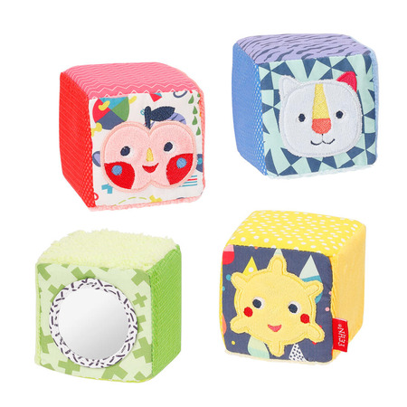 Set 4 cuburi - Prietenii culorilor, Fehn*