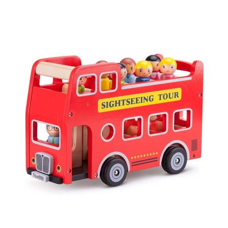 Autobuz turistic cu 9 figurine, New Classic Toys*
