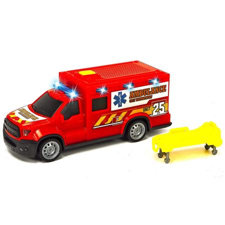 Masina ambulanta Dickie Toys City Ambulance Unit 25 cu accesorii*