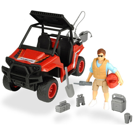 Masina Dickie Toys Playlife Park Ranger cu figurina si accesorii*