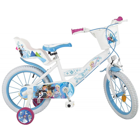 """Bicicleta 16"""" frozen, Toimsa*"""
