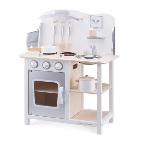 Bucatarie bon appetit alb/argintiu, New Classic Toys*