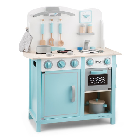 Bucatarie bon appetit deluxe albastru, New Classic Toys*