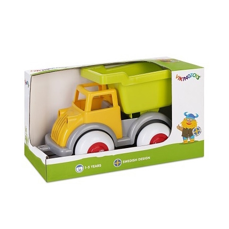 Camion autobasculanta culori vesele - midi, Vikingtoys*