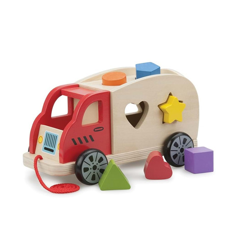 Camion shape sorter cu 6 forme, New Classic Toys*