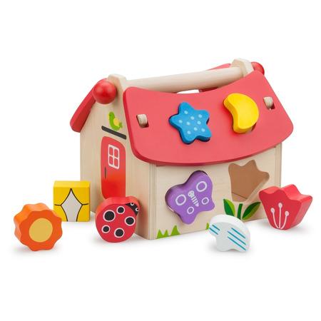 Casuta shape sorter cu forme, New Classic Toys*