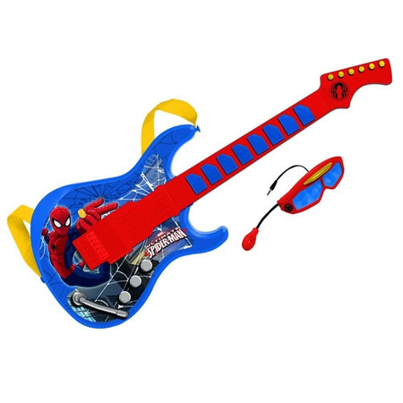 Chitara cu ochelari si microfon spiderman, Reig Musicales*