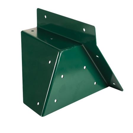 Coltar universal forma patrata, unghi oblic verde, Kbt*