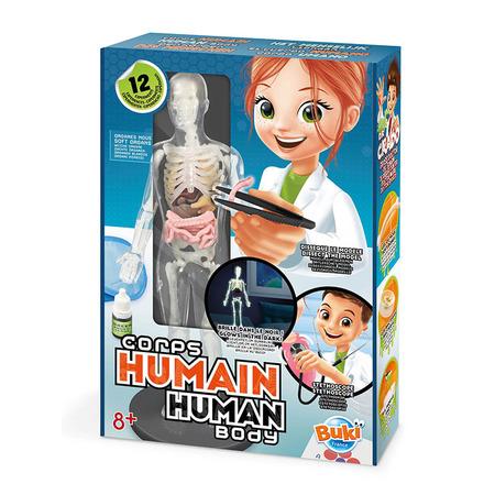 Corpul uman - 12 experimente new, Buki France*
