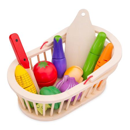 Cos cu legume, New Classic Toys*