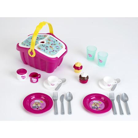 Cos picnic barbie cu accesorii, Klein*
