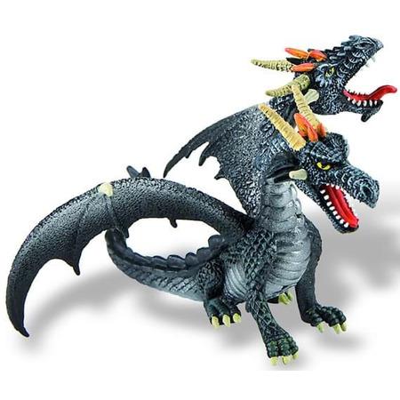 Dragon negru cu 2 capete, Bullyland*