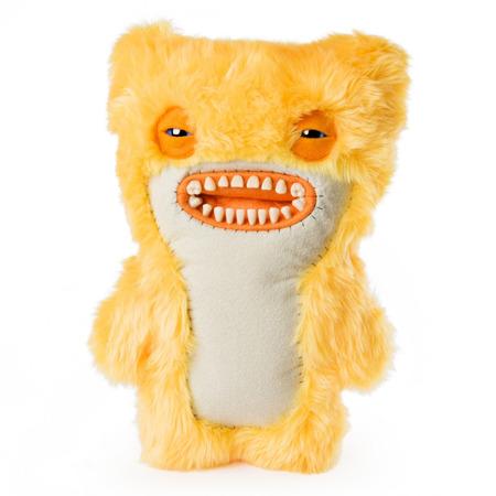 Fuggler monstru mediu 26 cm - galben pufos, Spin Master*