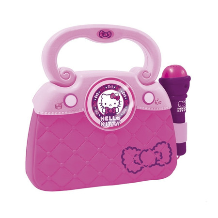 Geanta cu microfon si amplificator hello kitty new, Reig Musicales*