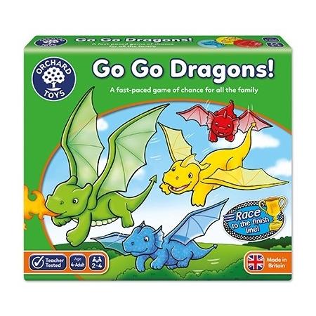 Joc de societate intrecerea dragonilor go go dragons!, Orchard Toys*