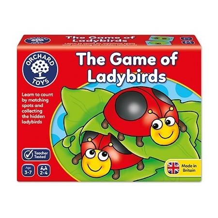 Joc educativ buburuzele ladybirds, Orchard Toys*