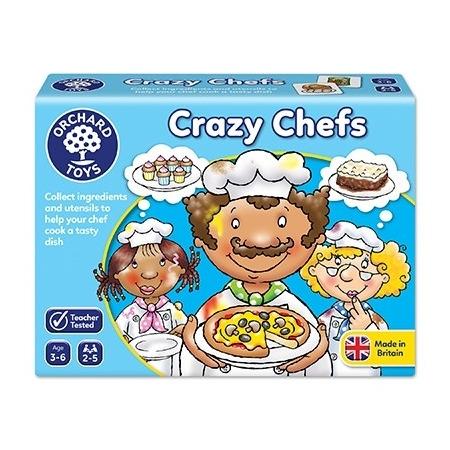 Joc educativ bucatarii nazdravani crazy chefs, Orchard Toys*
