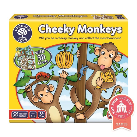 Joc educativ cheeky monkeys, Orchard Toys*