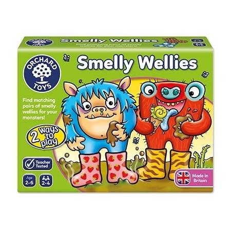 Joc educativ cizmulitele de cauciuc smelly wellies, Orchard Toys*