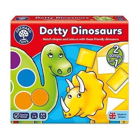 Joc educativ dinozaurii cu pete dotty dinosaurs, Orchard Toys*
