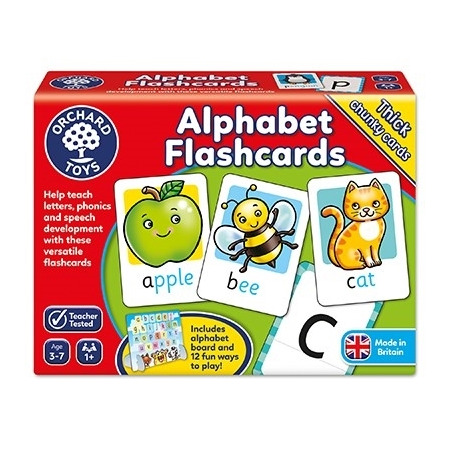 Joc educativ in limba engleza alphabet flashcards, Orchard Toys*
