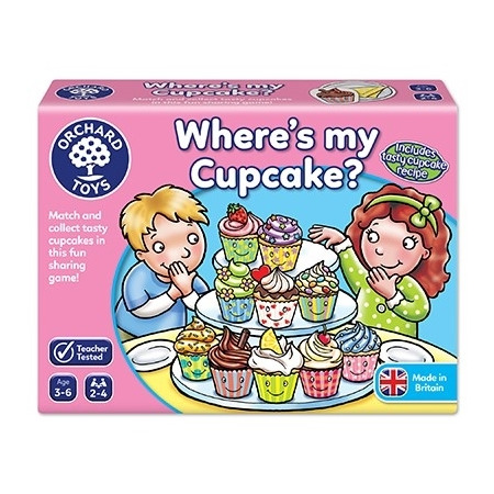 Joc educativ in limba engleza briosa where's my cupcake?, Orchard Toys*