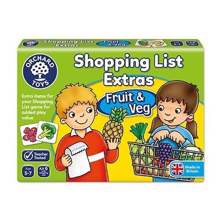 Joc educativ in limba engleza lista de cumparaturi fructe si legume, Orchard Toys*