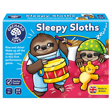 Joc educativ lenesii somnorosi sleepy sloths, Orchard Toys*
