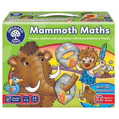 Joc educativ matematica mamutilor mammoth math, Orchard Toys*