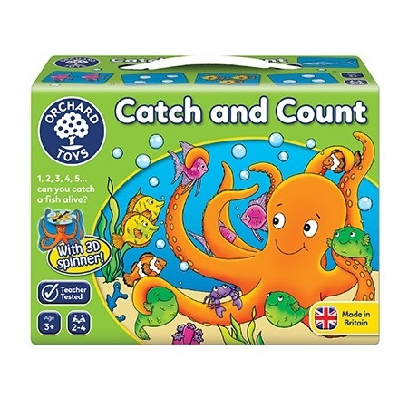 Joc educativ prinde si numara catch and count, Orchard Toys*