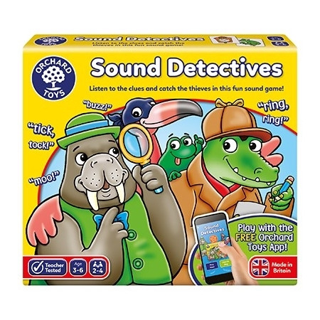 Joc educativ sunetul detectivilor sound detectives, Orchard Toys*