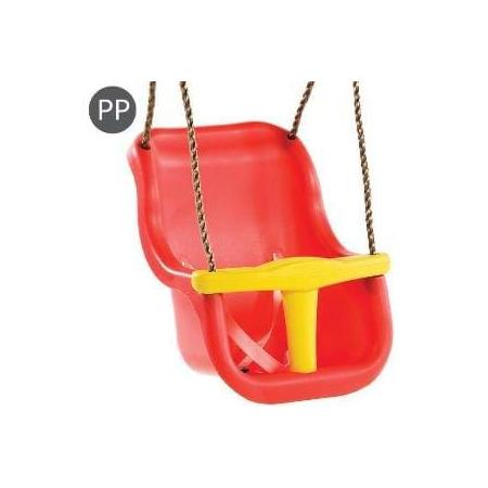 Leagan baby seat luxe culoare: rosu/galben, franghie: pp 10, Kbt*