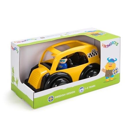 Masina taxi cu 2 figurine - jumbo, Vikingtoys*