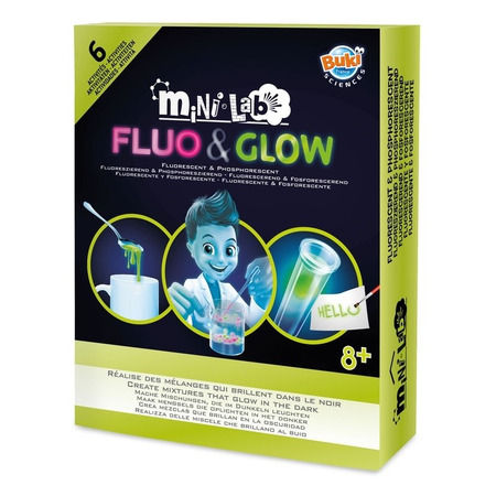 Mini - laboratorul fluo & glow, Buki France*