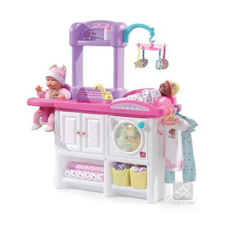 Mini cresa pentru copii new - love & care deluxe nursery, Step2*