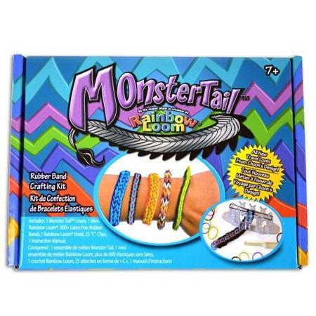 Monster tail rainbow loom*