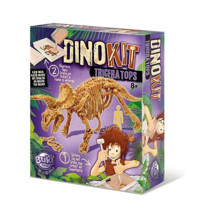 Paleontologie - dino kit - triceratops, Buki France*