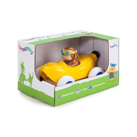 Pilot de curse maimuta in masinuta banana - cute racer, Vikingtoys*