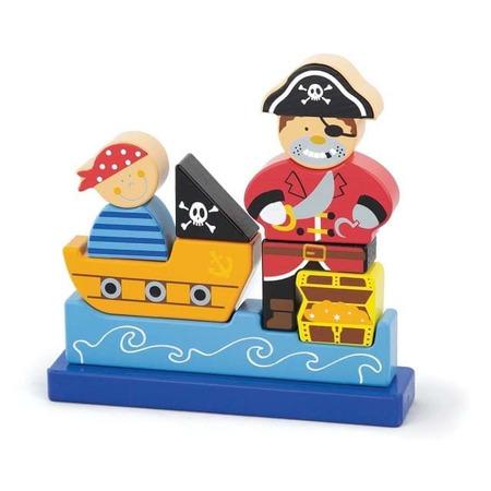 Puzzle 3d magnetic pirat, New Classic Toys*