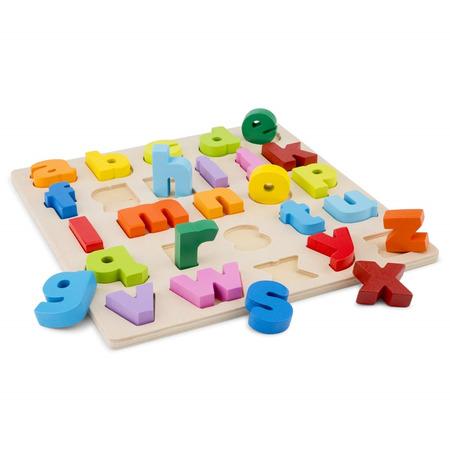 Puzzle alfabet litere mici, New Classic Toys*