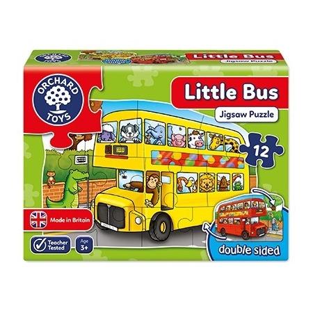 Puzzle fata verso autobuz (12 piese) little bus, Orchard Toys*